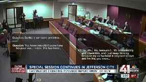News video: Special session continues in Jefferson City