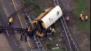 News video: Driver in Deadly NJ Bus Crash Has History of Speeding, License Suspensions