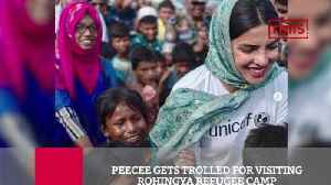 Peecee Gets Trolled For Visiting Rohingya Refugee Camp [Video]