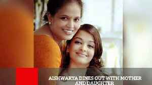 News video: Aishwarya Posts An Adorable Message For Her Mommy Darling