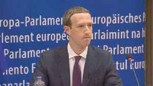 News video: 'I'm sorry', Facebook boss tells European lawmakers