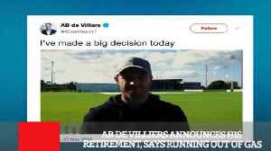 Ab De Villiers Announces His Retirement, Says Running Out Of Gas