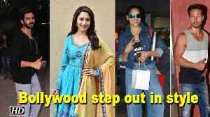 News video: Bollywood step out in style and meet fans