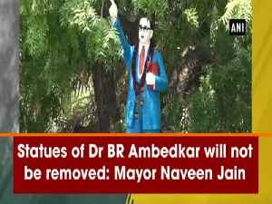 News video: Statues of Dr BR Ambedkar will not be removed: Mayor Naveen Jain