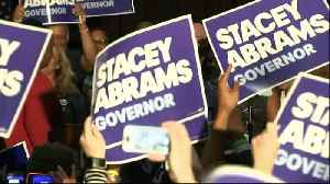 News video: Stacey Abrams to become first black US state governor