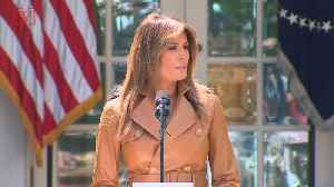 News video: The Wildest Conspiracy Theories About Melania Trump