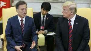 News video: Trump suggests China to blame for shift in North Korea's diplomatic tone ahead of planned summit
