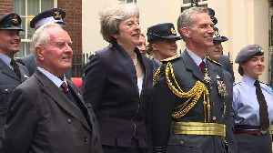 News video: PM's speech at RAF100 Centenary celebration in Downing St