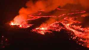 News video: Hawaii neighborhood besieged by volcano's river of molten misery