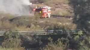 News video: PCSD: School bus catches fire, no injuries