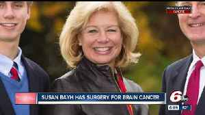 News video: Former Indiana first lady Susan Bayh undergoes brain cancer surgery