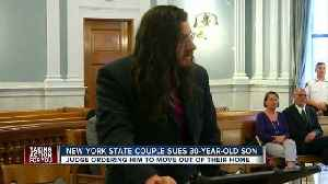 News video: Judge orders 30-year-old son to move out after parents file lawsuit