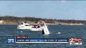 News video: Grand Lake boater tells his story of survival