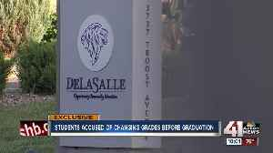 News video: DeLaSalle students accused of altering grades, some denied graduation