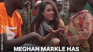 News video: Meghan Markle's History of Activism Predates Her Royal Engagement