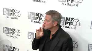 News video: For a Moment at the Reception, George Clooney Stole 2 Princesses