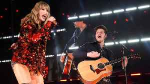 News video: Shawn Mendes GUSHES About Performing With Taylor Swift