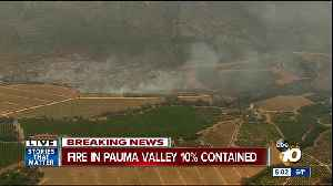 News video: Fire breaks out in Pauma Valley