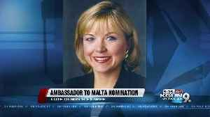 News video: Lute Olson's ex-wife Toretti nominated as ambassador to Malta