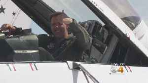 News video: Former Bronco Learns To Fly From The Professionals