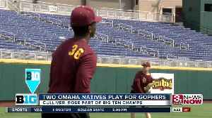 News video: Two Omaha Natives Help Minnesota Win Big Ten