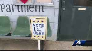 News video: Voters in Georgia begin casting ballots for the 2018 primary