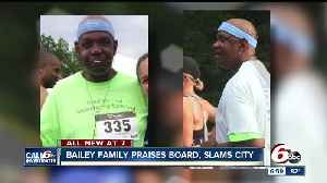 News video: Family of Aaron Bailey issues response to IMPD Merit Board's decision not to fire officers who killed him