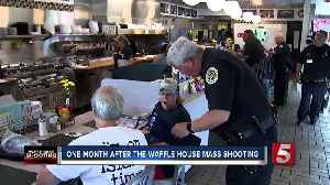 News video: Victims Remembered One Month After Waffle House Mass Shooting