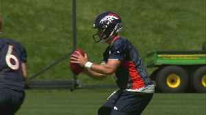 News video: Keenum On First Day Of OTA's: 'Trying To Earn The Right To Lead'