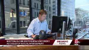 News video: Boston Globe editor accused of sexual harassment