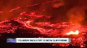 News video: Workers plugging energy wells as lava from Kilauea flows nearby