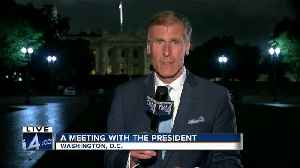 News video: TODAY'S TMJ4's Charles Benson meets with President Trump