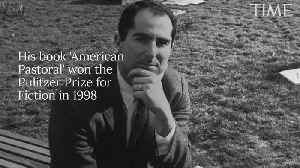News video: Pulitzer Prize Winning Author Philip Roth Dies at 85