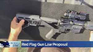 News video: Bill Would Expand Gun Violence Restraining Order Rules