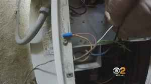 News video: Caught On Camera: Air-Conditioning Repairmen Inflate Fees To Fix Simple Problem