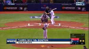 Mookie Betts and Chris Sale lead Boston Red Sox 4-2 over Tampa Bay Rays as Willy Adames debuts