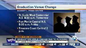 News video: Flooding moves 3 graduations in St. Lucie County