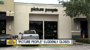 News video: 'Picture People' suddenly closes across Florida
