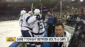 News video: Game 7 tonight between Bolts and Caps