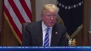 News video: Trump Travels To Long Island To Talk MS-13