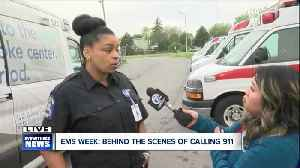 News video: EMS Week: The job is personal for AMR employees