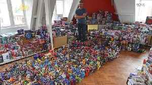News video: This Guy Owns A Fifth Of The World's Transformers Memorabilia