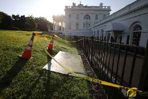 News video: Sinkhole opens up outside White House