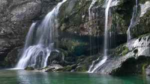News video: Compilation of Slovenia's stunning waterfalls in 4K