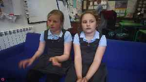 News video: British kids who travel to class by BOAT