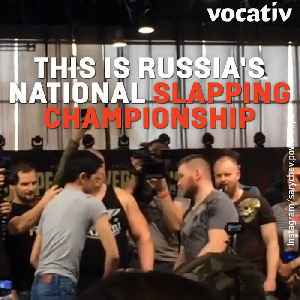 News video: The Russian National Slapping Championship Is One Of The Dumbest, Most Reckless Competition We've Seen