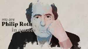 News video: Author Philip Roth in Quotes