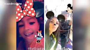 News video: Kim Kardashian West Takes Saint and North to Disneyland — See the Cute Mommy-and-Me Snaps