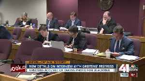 News video: Graphic details of Greitens affair revealed as committee reads deposition
