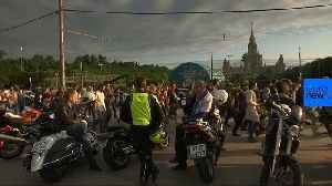 News video: Moscow university students protest World Cup noise